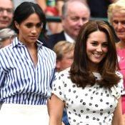 Juntas, Meghan Markle e Kate Middleton fazem 1° passeio sem Harry e William