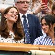 Essa é a primeira vez que Kate Middleton e Meghan Markle saem juntas sem a companhia dos respectivos maridos, William e Harry