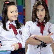 Larissa Manoela comenta rivalidade de Mirela e Brenda em novela: 'Personalidade'