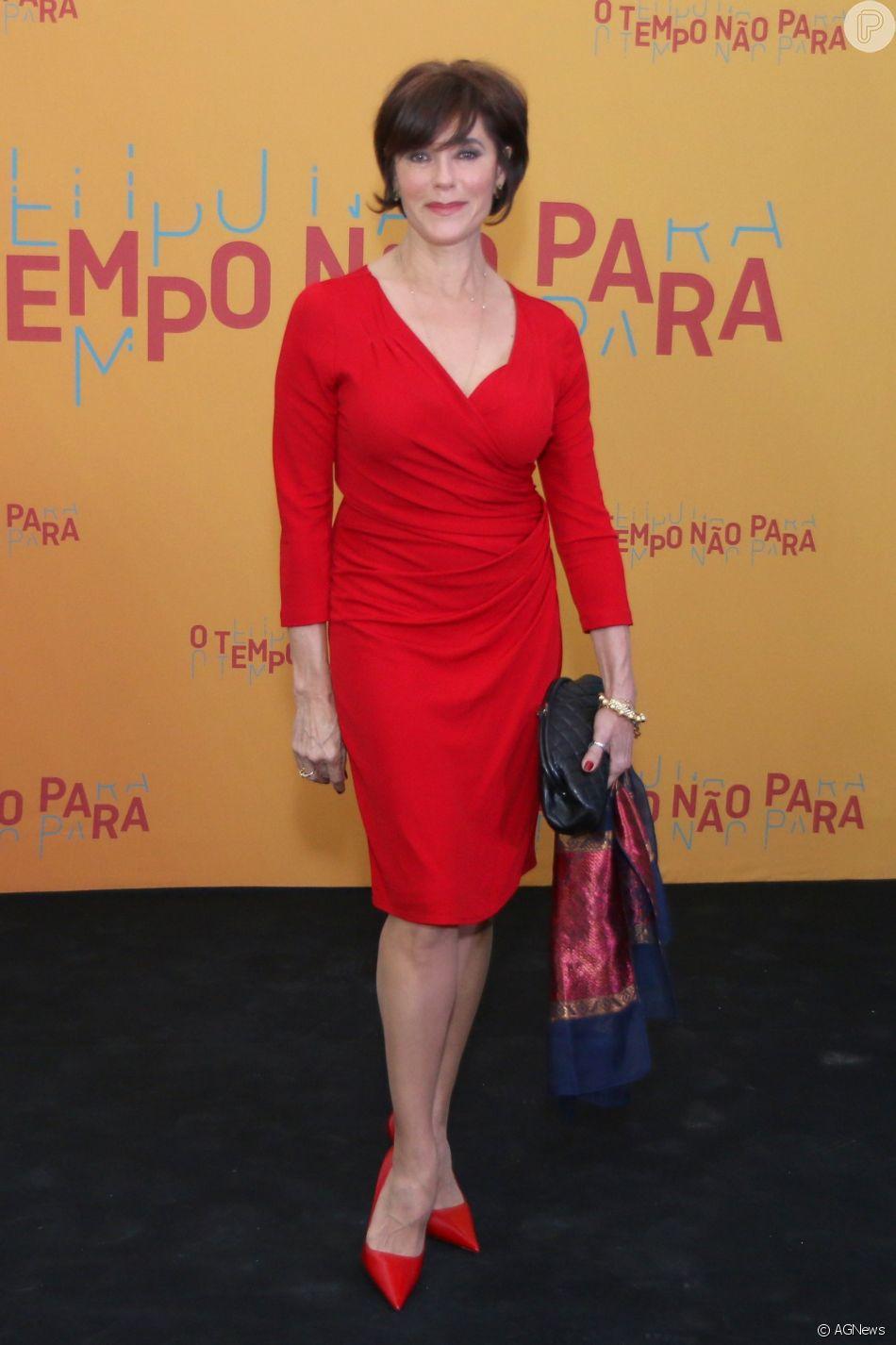 """Resultado de imagem para Christiane Torloni para """"O Tempo Não Para"""""""