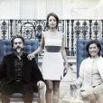 Cristina (Leandra Leal) pode ser mais uma herdeira da fortuna José Alfredo (Alexandre Nero), que teve três filhos com Maria Marta (Lilia Cabral), em 'Império'