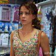 Cristina (Leandra Leal) entrega a carta que pensa ser de sua falecida mãe para José Alfredo (Alexandre Nero) e Maria Marta (Lilia Cabral) acusa-a de tentar dar um golpe, em 'Império'