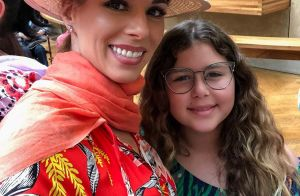 Ana Furtado recebe visita da filha nos bastidores do 'É de Casa': 'Especial'