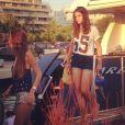 Bruna Marquezine deixa iate de Neymar após passeio pelo mar de Ibiza