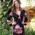 Ana Furtado comemorou o retorno ao programa 'É de Casa', neste sábado, 21 de julho de 2018