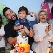 Antonia Fontenelle e Jonathan Costa comemoram aniversário do filho, Salvatore