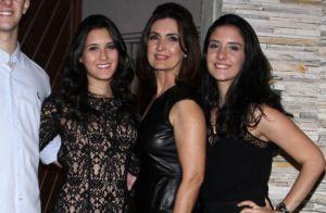 Fátima Bernardes curte férias com filhas, Laura e Beatriz, em Barcelona. Fotos!