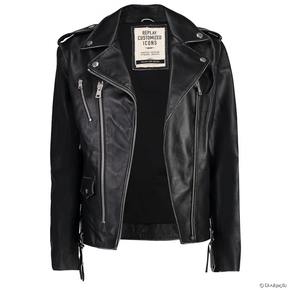 Upgrade no guarda-roupa. Jaqueta Replay, R$ 4.999