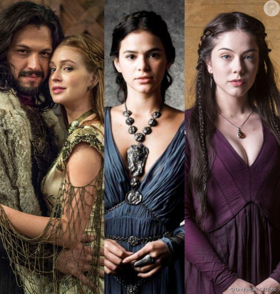 Fim de 'Deus Salve o Rei': casamento de Afonsália e morte de vilãs comovem web nesta segunda-feira, dia 30 de julho de 2018