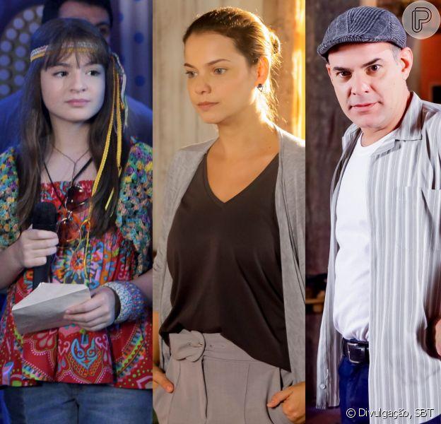 Poliana (Sophia Valverde) descobre que Luísa (Milena Toscano) é irmã de Durval (Marat Descartes) no capítulo que vai ao ar nesta terça-feira, dia 7 de agosto de 2018, na novela 'As Aventuras de Poliana'