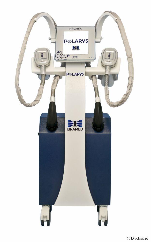 O aparelho Polarys, que reduz a gordura corporal através das baixas temperaturas