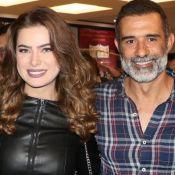 Marcos Pasquim assiste peça com Rayanne Morais após rumor de romance. Fotos!
