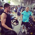 Para isso, Daniel Rocha emagreceu 5 quilos e fez muito exercício para ficar mais sarado