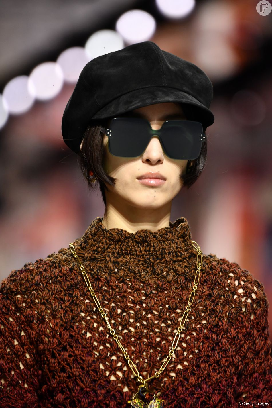 92a074c4ffdf1 Os óculos colorquake da Dior  com lentes mais escuras, em verde ...