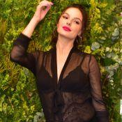 Isis Valverde aposta em transparência com lingerie à mostra em evento. Fotos!