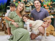 Wesley Safadão mostra foto com família em chá de fraldas do 3º filho: 'Vem, Dom'