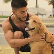 Arthur Aguiar e Mayra Cardi explicam doação de cachorro: 'Era o melhor para ele'