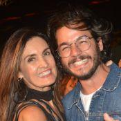 Fátima Bernardes posa abraçada a Túlio Gadêlha durante viagem: 'Melhor luz'
