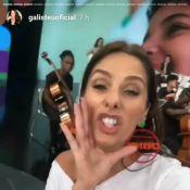 Na Globo, Adriane Galisteu cita seu antigo programa no SBT:'Como vai, Galisteu?'