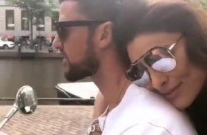 Juliana Paes passeia de moto com o marido em Amsterdã: 'Chegamos'. Vídeo!