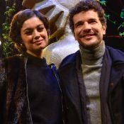 Sophie Charlotte prestigia Daniel de Oliveira em première de filme em Gramado