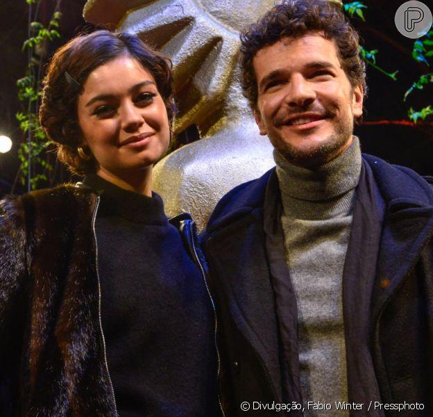 Sophie Charlotte e Daniel de Oliveira conferiram a première do filme '10 Segundos Para Vencer', no Festival de Gramado, nesta quinta-feira, 23 de agosto de 2018