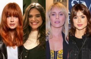 Mês das mudanças: veja o antes e depois dos cabelos das famosas em agosto. Fotos