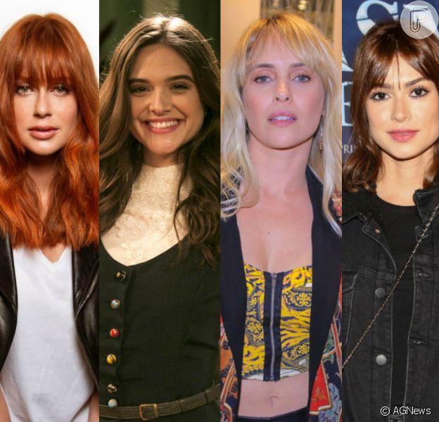Marina Ruy Barbosa, Juliana Paiva, Fernanda Nobre e mais famosas mudam visual no mês de agosto