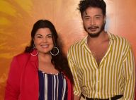 Fabiana Karla e o namorado curtem show de Margareth Menezzes na Bahia. Fotos!