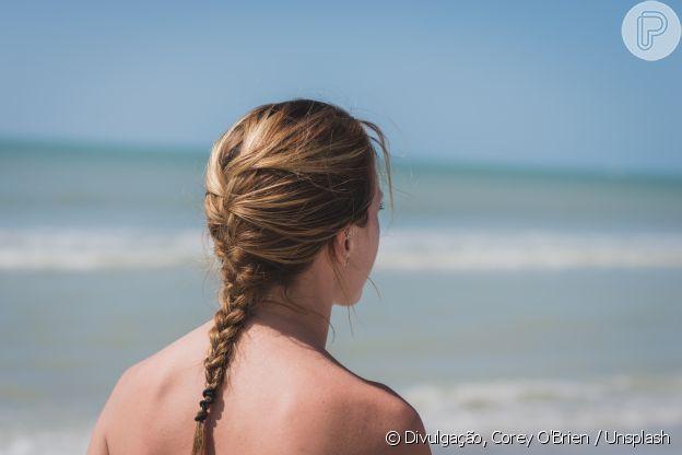A trança embutida não pode ser feita em todos os comprimentos de cabelo