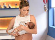Andressa Suita nega lipo após nascimento dos filhos: 'Voltando a correr atrás'