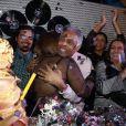 Preta Gil comemora aniversário de 40 anos com baile funk, no Rio de Janeiro, e recebe amigos famosos (7 de agosto de 2014)