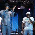 Buchecha e MC Sapão cantaram na festa de Preta Gil