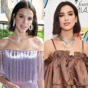 Bruna Marquezine recusa comparação com Dua Lipa:'Tudo estou querendo ser alguém'