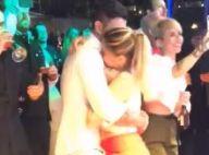 Andressa Suita e Gusttavo Lima dançam coladinhos no aniversário do cantor. Vídeo