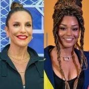 Filha de Juliana Alves, Yolanda rouba a cena no colo de Ivete Sangalo: 'Família'