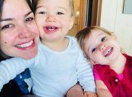 Filha de Thais Fersoza, Melinda penteia cabelo da atriz em vídeo: 'Uma trança'