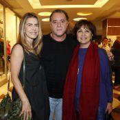 Tony Ramos, Maitê Proença e famosos vão à estreia de peça no Rio de Janeiro