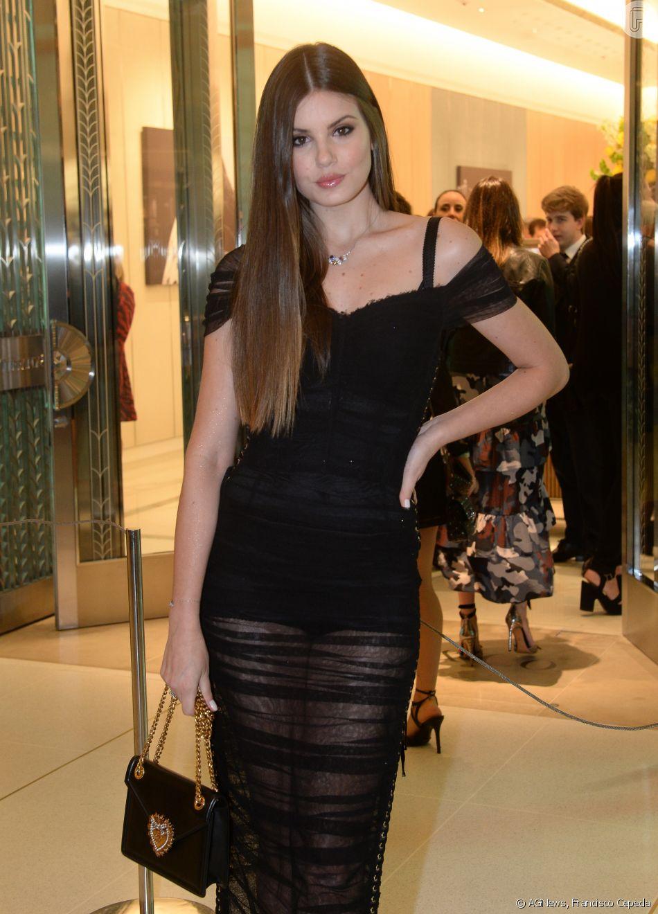 1ca69823efc00 Camila Queiroz na inauguração da loja Tiffany   Co. no Shopping JK Iguatemi,  em São Paulo, nesta quinta-feira, 13 de setembro de 2018