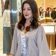 f84bd46646e61 Ana Paula Padrão prestigiou a inauguração da loja Tiffany   Co no Shopping  JK Iguatemi, em São Paulo, nesta quinta-feira, 13 de setembro de 2018