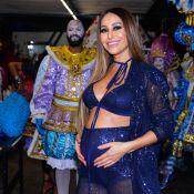 Sabrina Sato é coroada rainha de bateria da Gaviões da Fiel e mostra samba no pé