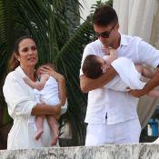 Marido de Ivete Sangalo festeja batizado de gêmeas: 'Felicidade na própria casa'