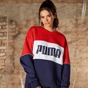 Bruna Marquezine reforça empoderamento em ensaio da Puma: 'Evoluir diariamente'