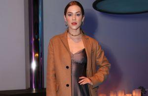 0268207d19097 Marina Ruy Barbosa aposta em look de renda para lançamento da Dior. Fotos!