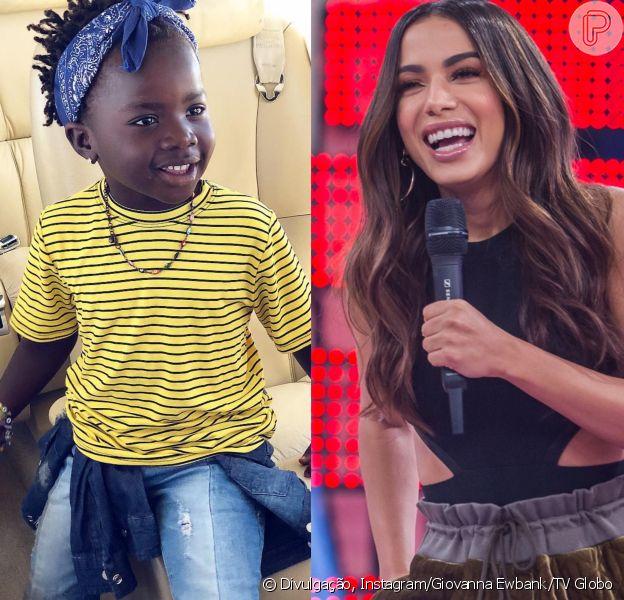 Filha de Gagliasso e Ewbank passou a comer frutas por causa de Anitta, afirmou cantora em entrevista