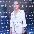 Carolina Ferraz  prestigiou o Grande Prêmio do Cinema Brasileiro, na Cidade das Artes, na Zona Oeste do Rio de Janeiro, nesta terça-feira, 19 de setembro de 2018