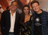 Thais Fersoza e Michel Teló prestigiam pré-estreia de filme no Rio. Veja fotos!