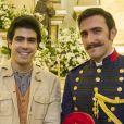 Luccino (Juliano Laham) e Otávio (Pedro Henrique Müller) vão comemorar cinco anos juntos no último capítulo da novela 'Orgulho e Paixão'