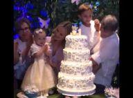 Filha de Eliana, Manuela esbanja fofura em festa do 1º aniversário. Veja vídeo!