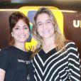 Fernanda Gentil e Priscila Montandon são clicadas com frequência em shows